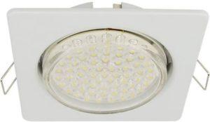 Светильник для натяжного потолка GX53 H4 Квадрат белый